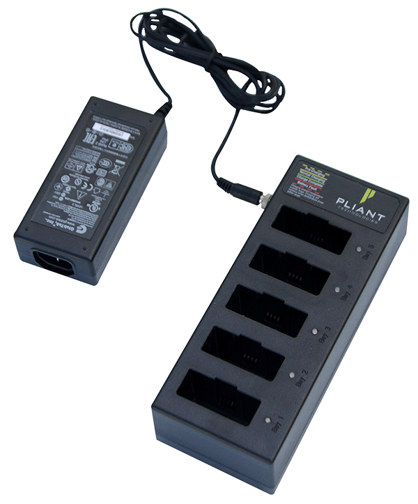 5-bay Battery Charger for Li-Poly Batteries