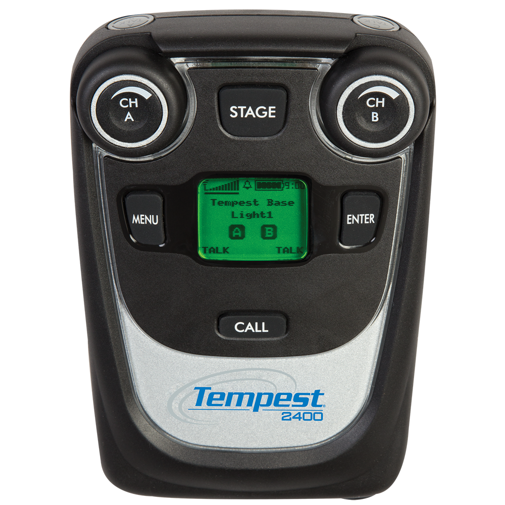 Tempest 2.4GHz 2-Channel Wireless BeltStation (CE)